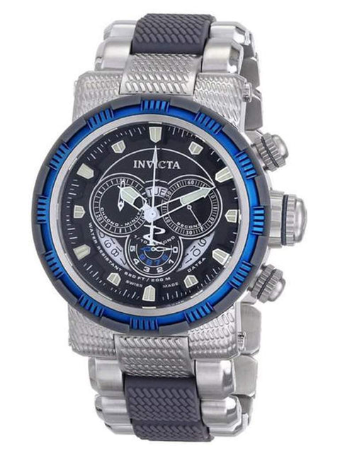 Invicta Chronograph Bracelet Blue IP Men's Watch by Invicta - My100Brands
