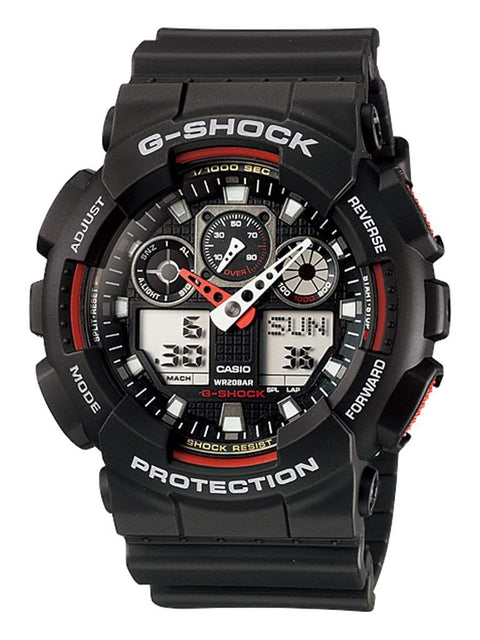 Casio G-Shock Black Men's Watch GA100-1A4 by Casio - My100Brands