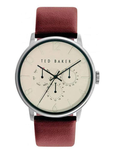 Ted Baker London Multifunction Leather Strap Men's Watch by Ted Baker London - My100Brands