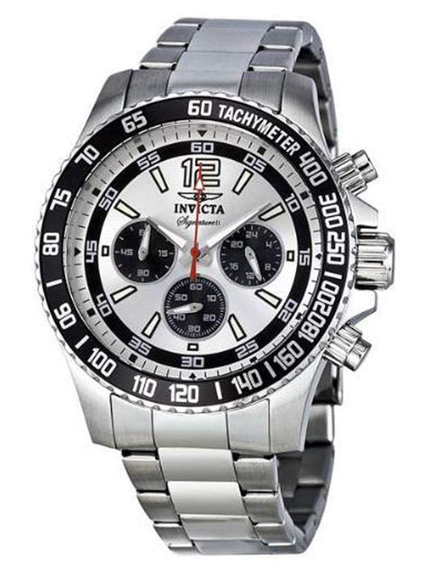 Invicta Signature II Chronograph Silver Dial Men's Watch by Invicta - My100Brands