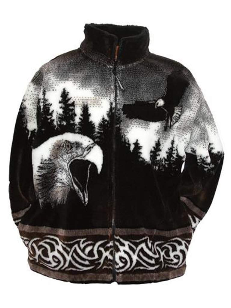 Screaming Eagle Adult Fleece Jacket by My100Brands - My100Brands