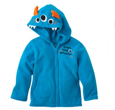 Microfleece Monster Toddler Hoodie by My100Brands - My100Brands