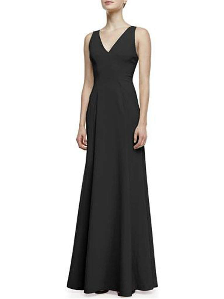 Robert Rodriguez Vertebrae B Woven-Panel Sleeveless Gown by Robert Rodriguez - My100Brands