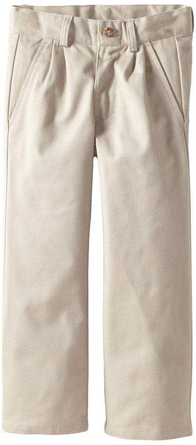 Nautica Boys' Pleated Twill Pants by Nautica - My100Brands