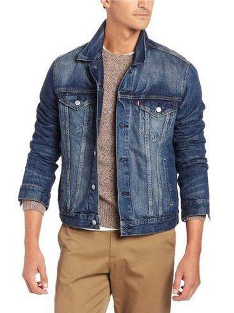 Levi's Men's Relaxed Denim Trucker Jacket by Levi's - My100Brands
