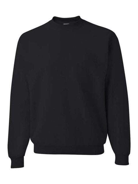 Men's Black Crew Neck Sweatshirt by My100Brands - My100Brands