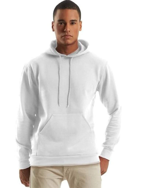 Men's White Hoodie by My100Brands - My100Brands