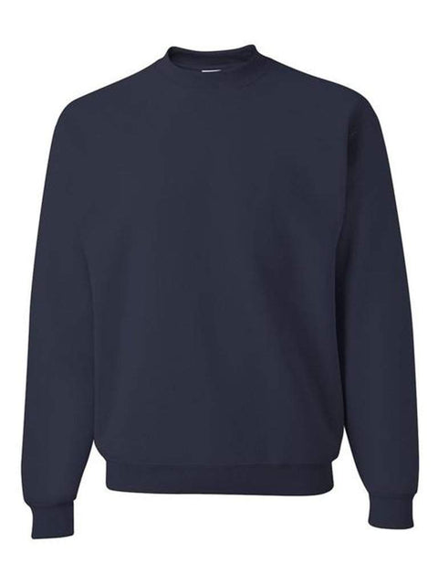 Men's Navy Crew Neck Sweatshirt by My100Brands - My100Brands