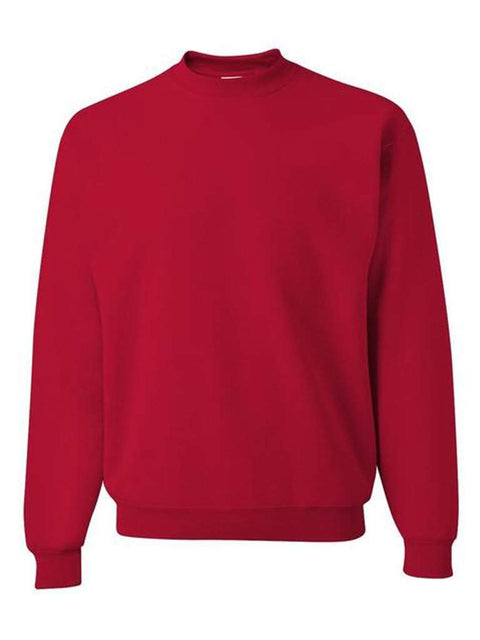 Men's Red Crew Neck Sweatshirt by My100Brands - My100Brands