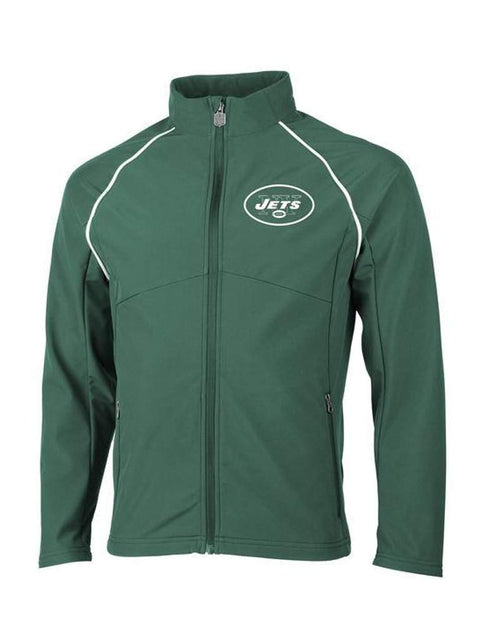 Men's New York Jets Pro Line Soft Shell Jacket by My100Brands - My100Brands