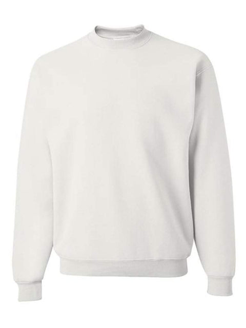 Men's White Crew Neck Sweatshirt by My100Brands - My100Brands