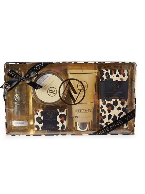 Adrienne Vittadini Studio 5-Pc Gift Set - Honey Almond by Adrienne Vittadini - My100Brands