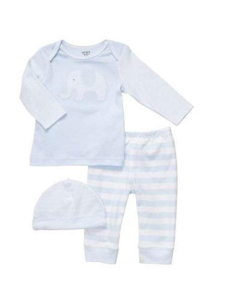 Carter's Elephant Cap 3-Pc Set by Carters - My100Brands