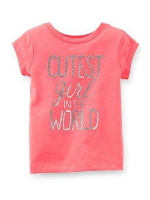 Carter's Cutest Girl In The World Tee by Carters - My100Brands