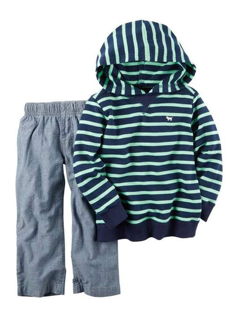 Carter's French Terry Hoodie and Pants 2-Pc Set by Carters - My100Brands