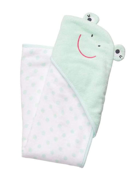 Carter's Frog Hooded Towel by Carters - My100Brands