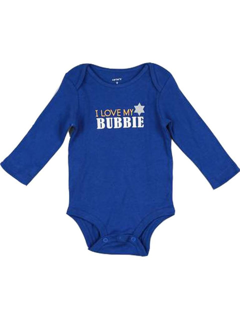 Carter's Boy's I Love My Bubbie Long Sleeve Bodysuit by Carters - My100Brands