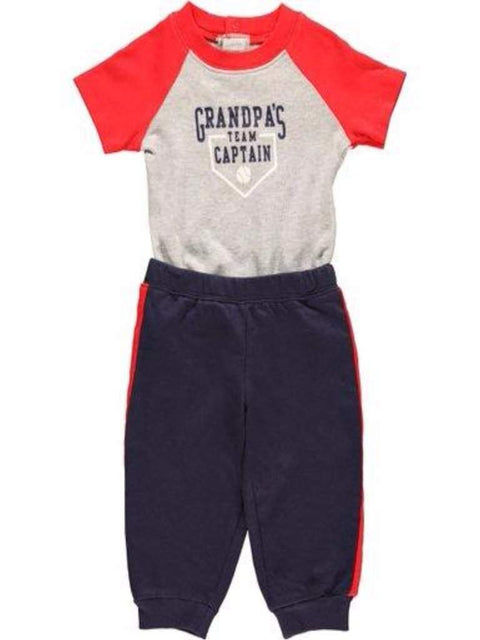 Carter's Baby Boy Bodysuit and Pants 2-Pc Set by Carters - My100Brands