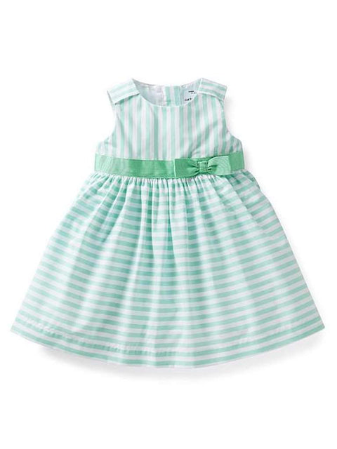 Carter's Girl's Cotton Striped Dress by Carters - My100Brands