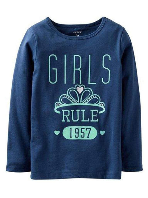 Carter's Girl's Rule Tee by Carters - My100Brands