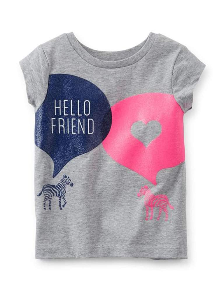 Carter's Girl's Hello Friend Tee by Carters - My100Brands