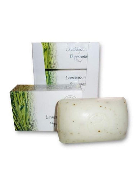 Lemongrass & Peppermint Soap - 3½ oz by Madina - My100Brands