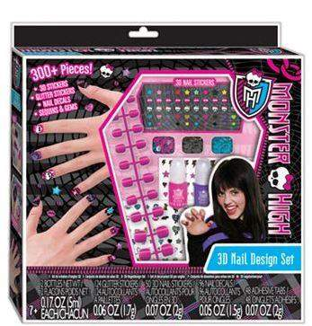 Monster High Fashion Angels 3D Nail Design Set by Monster High - My100Brands