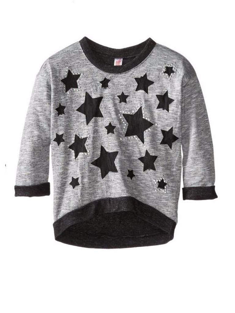 Beautees Girl's Pullover with Stars by Beautees - My100Brands