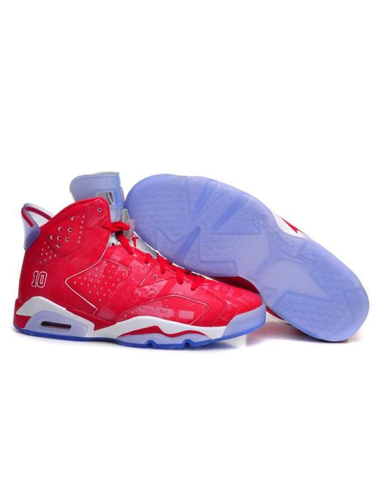 1bc805a89a66ca Nike Mens Air Jordan 6 Retro X Slam Dunk Varsity Basketball Shoes by Nike -  My100Brands