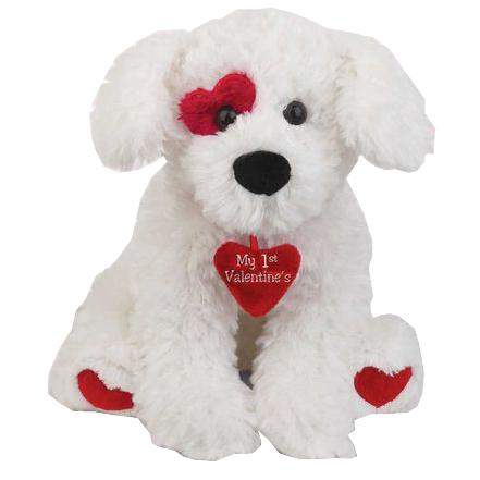 My 1st Valentine's Puppy by Bearington Baby Collection - My100Brands