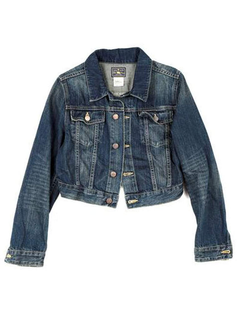 Ralph Lauren Girls Denim Jeans Long Sleeve Jacket by Ralph Lauren - My100Brands