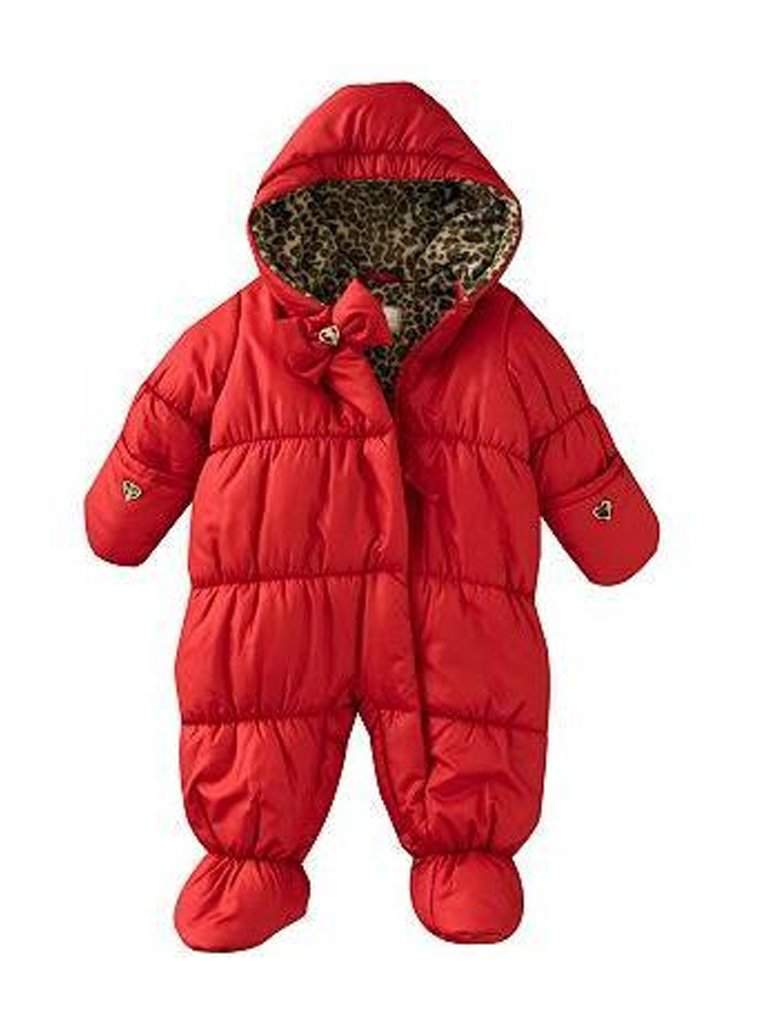 Rothschild Baby Leopard Snowsuit - Cherry by Rothschild - My100Brands