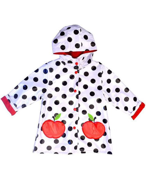 Wippette Girls Rain Coat-White by Wippette - My100Brands