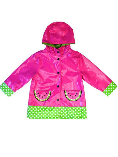 Wippette Girls' Rain Coat - Fuchsia by Wippette - My100Brands