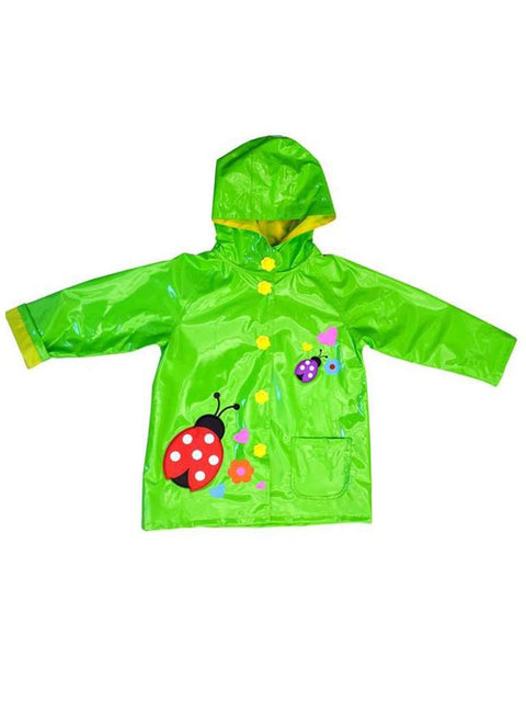 Wippette Girls Rain Coat-Green by Wippette - My100Brands