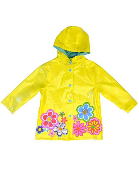 Wippette Girls' Rain Coat - Yellow by Wippette - My100Brands
