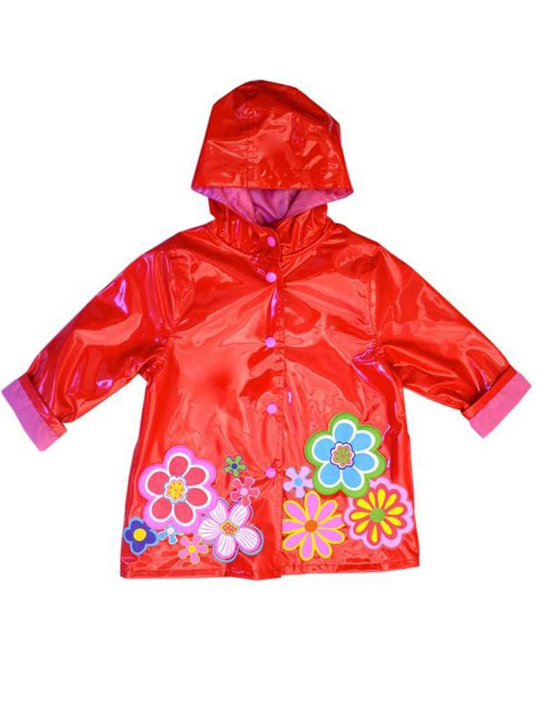 Wippette Girls' Rain Coat - Red by Wippette - My100Brands