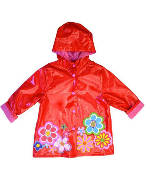 Wippette Girls Rain Coat-Red by Wippette - My100Brands
