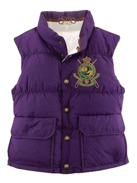 Ralph Lauren  Girls' Reversible Down Vest by Ralph Lauren - My100Brands