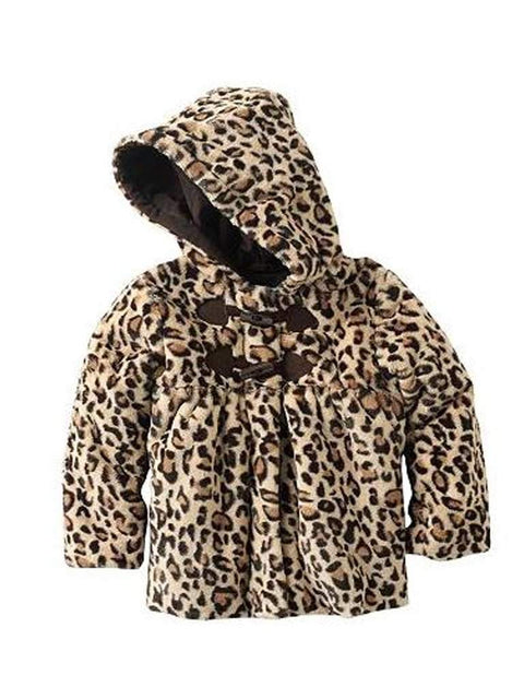 Rothschild Leopard Faux Fur Coat by Rothschild - My100Brands