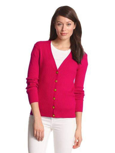 Anne Klein Long Sleeve V-Neck Cardigan by Anne Klein - My100Brands