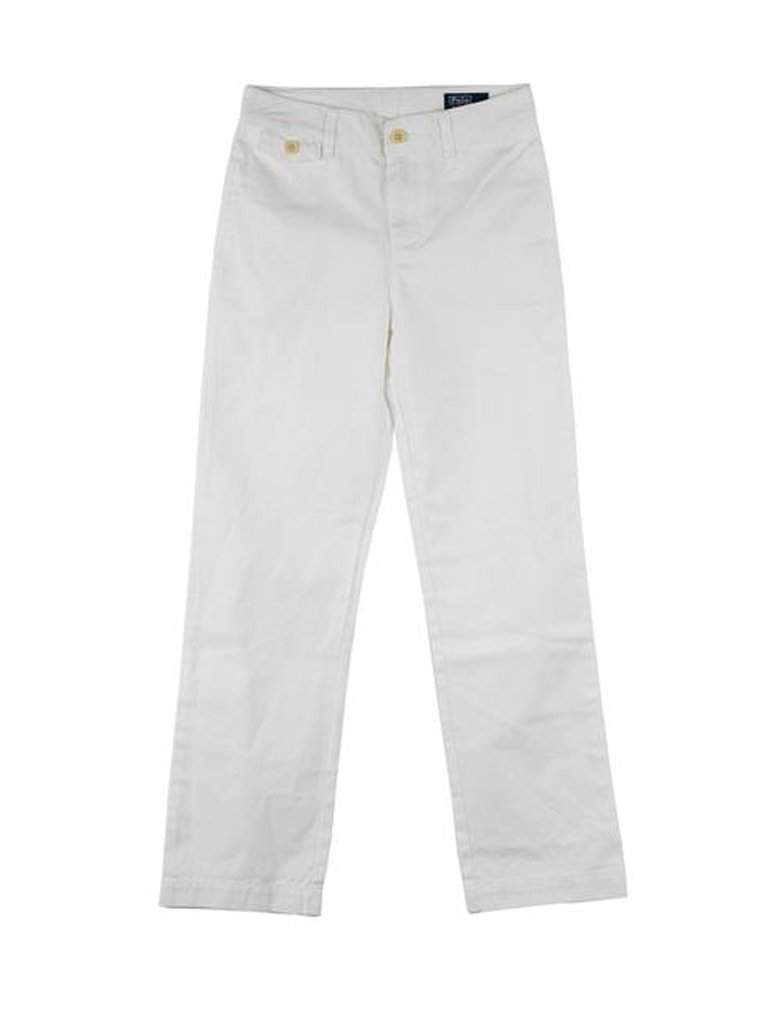 Ralph Lauren White Polo Pants by Ralph Lauren - My100Brands