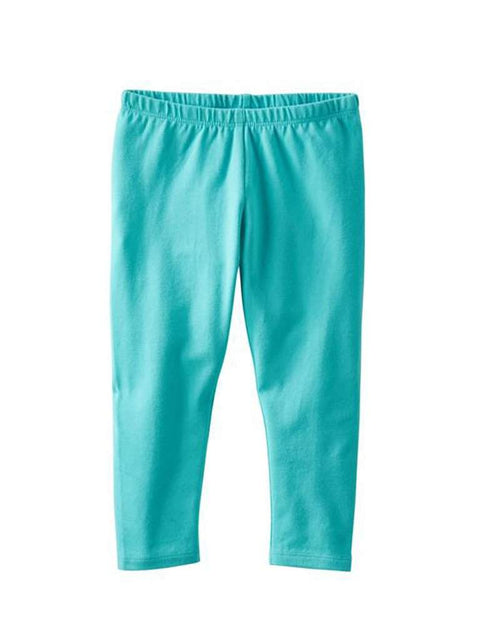 TLC Girl's Solid Capri Leggings by My100Brands - My100Brands