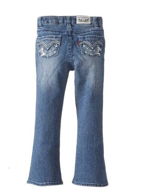 Levi's Girls' Slim Claudia Flare, Uncrushed by Levi's - My100Brands