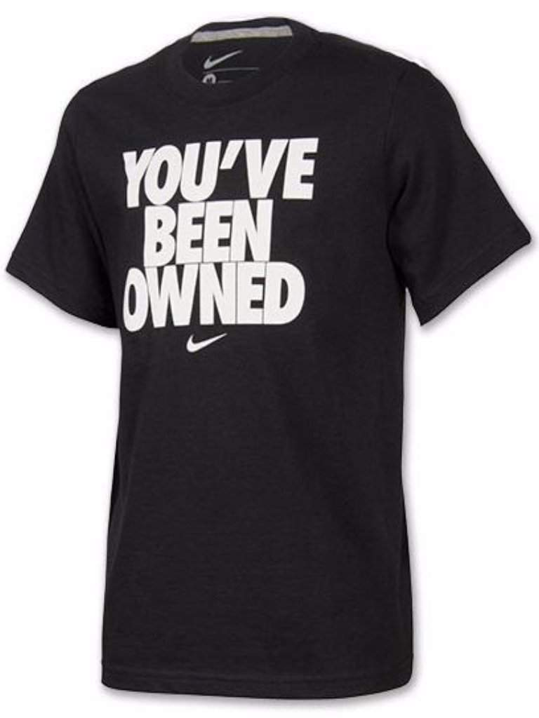 Nike Boys' You've Been Owned T-Shirt by Nike - My100Brands
