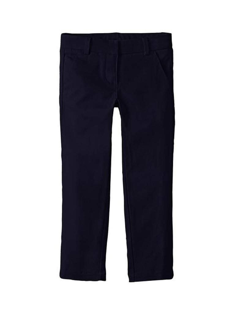 Nautica Girls' Stretch Twill Skinny Bootcut Pants with Waistband by Nautica - My100Brands