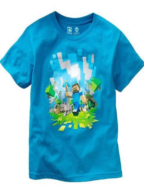 Boy's Minecraft Adventure Tee by Minecraft - My100Brands