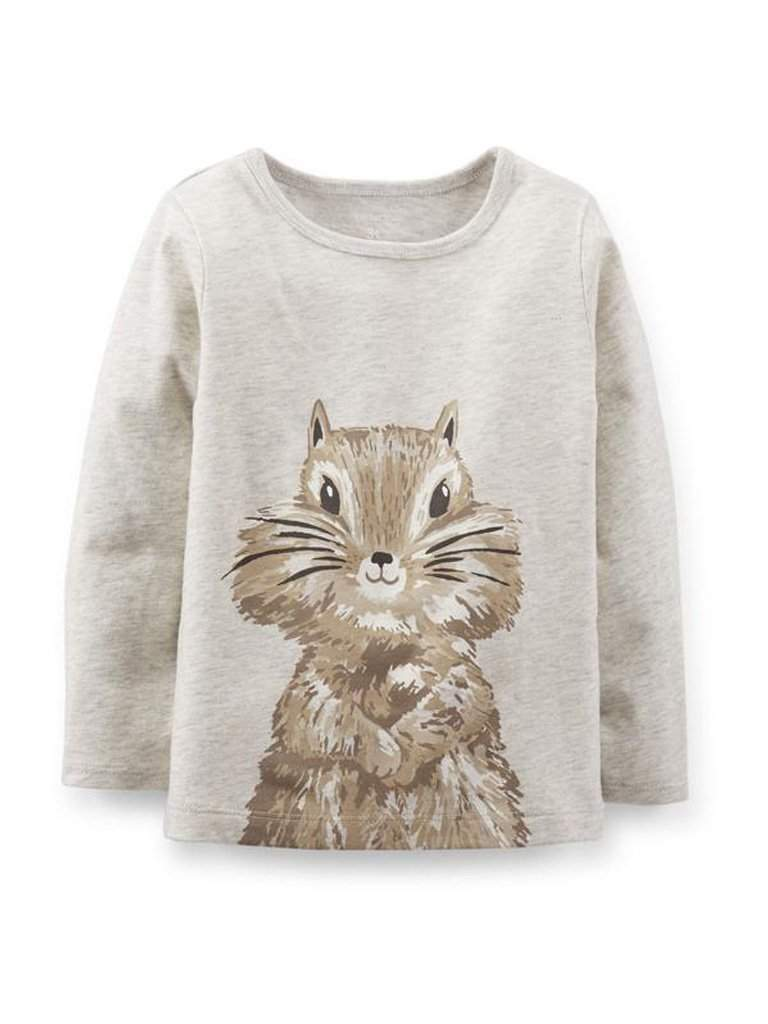 Carter's Hand-Drawn Chipmunk Tee by Carters - My100Brands