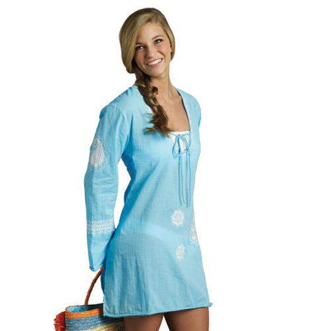 Mud Pie Ocean Embroidered Cover Up by Mud Pie - My100Brands