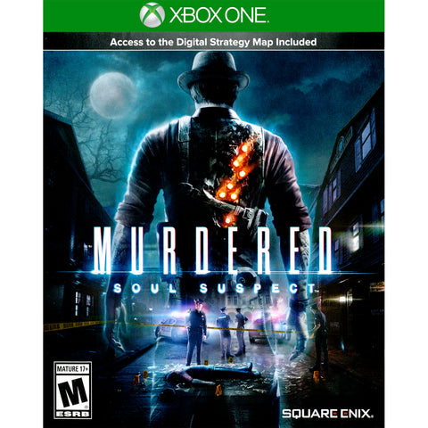 Murdered: Soul Suspect for Xbox One by Square enix - My100Brands